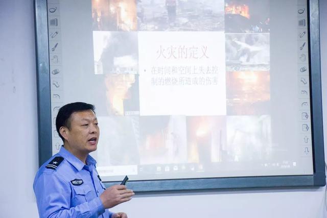 """省消防协会走进基石 开展""""消防知识培训""""主题宣传活动"""